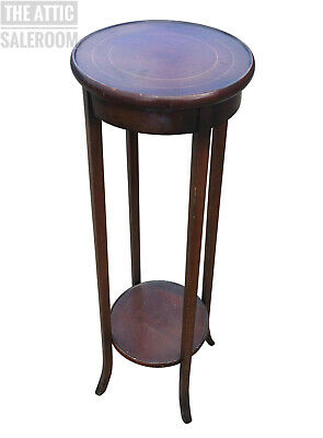 Charming Old Antique Mahogany Pot Stand Jardiniere