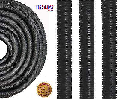 Premium 20mm Polypropylene Flexible Conduit - LSOH - 50 M Coil - UV Resistant