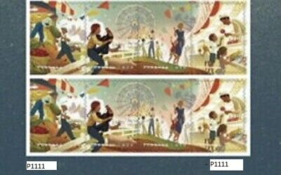 #5401 - 5404a 2019 State & County Fairs Plate Block/8 -MNH