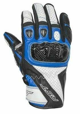 Rst Stunt 3 Ce Approved Gloves White/Blue Extra Large