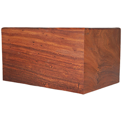 Rose Wood Adult Urn for Human Ashes - Large Cremation Memorial