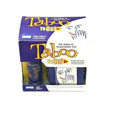 TABOO, THE GAME of Unspeakable Fun by Hasbro, Age: Adult, 4