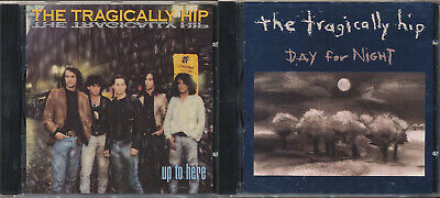 Up to Here: The Tragically Hip / Day For Night: The Tragically Hip (2 CD SALE)