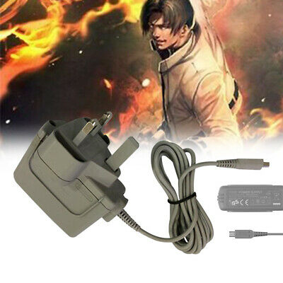 Offical Genuine Nintendo 3 PIN PLUG 3DS 2DS DSi & XL Charger of Power Adapter UK
