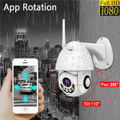 1080P Wireless WIFI IP Camera HD Network Cam CCTV In/Outdoor Security IR Night U