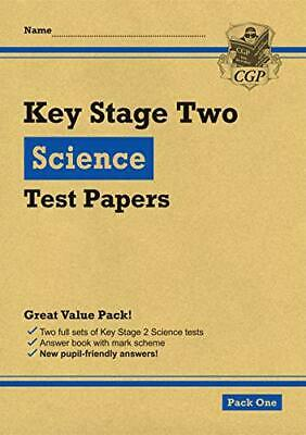 New KS2 Science Tests: Pack 1 (CGP KS2 SATs Practice Papers) by CGP Books, NEW B