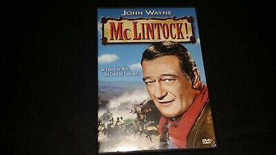 Mclintock Dvd 1999 Fs Movie Video Film Disc Western John Wayne Maureen O Hara