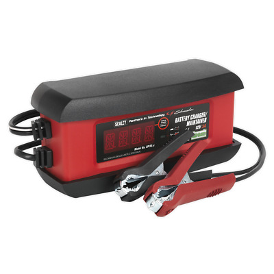 Schumacher Intelligent Lithium Battery Charger 3Amp 12V | SEALEY SPI3S by Sealey