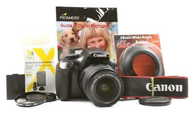Used Canon EOS Rebel T3 DSLR 12.2MP Camera w/ 18-55mm f/3.5-5.6 IS II Zoom Lens