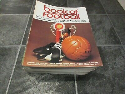 Book Of Football Magazines, All 75 Issues, Complete, 1971-1973 Excellent For Age