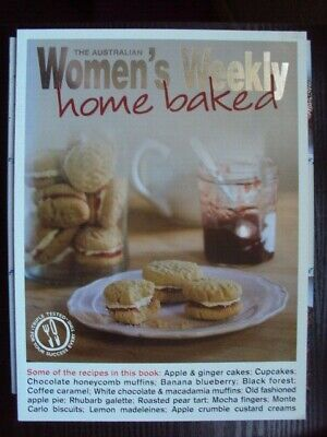 Australian Womens Weekly Home Baked Recipe Cook Book