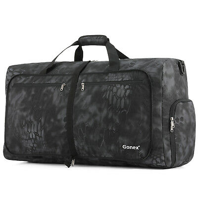 60/80/100L Camouflag Packable Duffel for Travel Gym Sports Water& Tear Resistant
