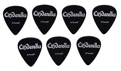 Cinderella Days Of The Week 7 Guitar Pick Set - 2006 20 Years Of Rock Tour
