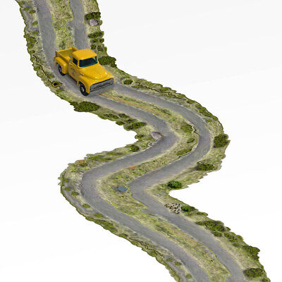 Street AutoMotionFX Roadway HO-Scale 1//87 Embedded Wire Tracking Roads Track