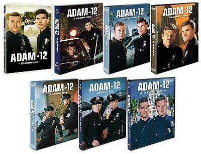 ADAM-12 Complete Series Seasons 1-7 DVD Bundle BRAND NEW Free Ship