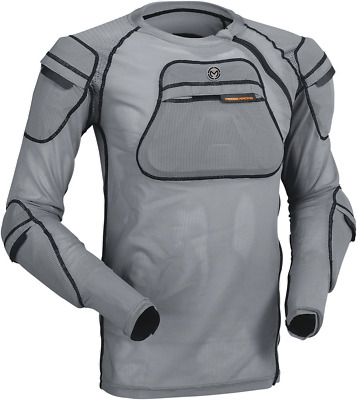 Moose Racing XC1 Body Armor Gray Chest Protector L/XL NEW