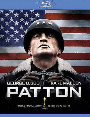 PATTON (Blu-ray, 2012, 2-Disc Set) New / Factory Sealed / Free Shipping