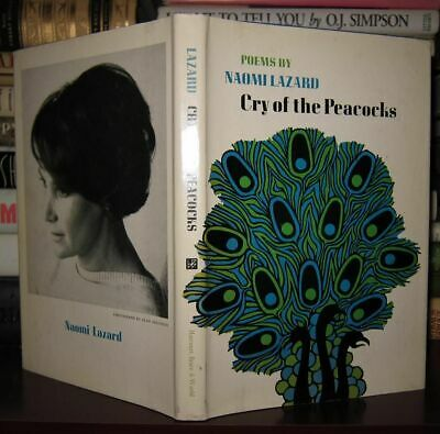 Lazard, Naomi CRY OF THE PEACOCKS 1st Edition 1st Printing