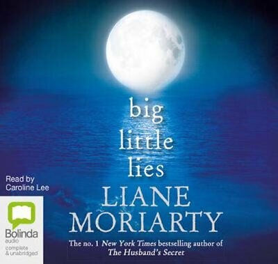 NEW Big Little Lies By Liane Moriarty Audio CD Free Shipping