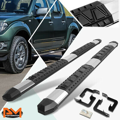 """5/"""" CHROME SIDE STEP NERF BARS RAIL RUNNING BOARDS 04-08 FORD F150 SUPER//EXT CAB"""