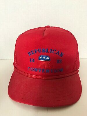 1992 Republican Convention Red Hat