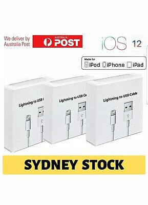 1M Genuine Original Lightning Data Charger Cable For Apple iPhone model