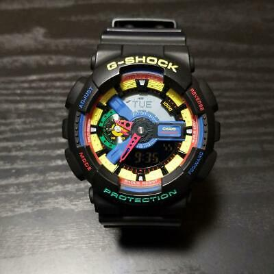 4a4d6807eb8d CASIO G-SHOCK GA-110DR Dee and Ricky Limited Collaboration Model from JAPAN  Used