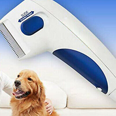 Flea Doctor Electric Flea Comb-Great for Dogs & Cats Pet Brush Anti Tick Control