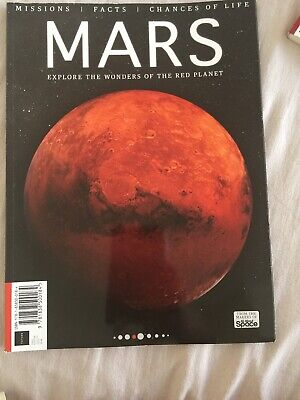 Missions/facts/ Chances Of Life MARS (brand New Magazine)