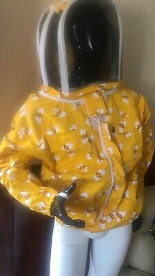 Beekeeping Protective Clothing Equipment Beekeeper Bee Jacket Suit/ Size Large