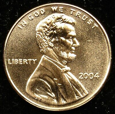 2004 Uncirculated Lincoln Memorial Cent Penny BU (B01)