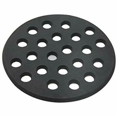 Round Cast Iron Bottom Fire Grate For Big Green Egg, BBQ High Heat Charcoal Fit