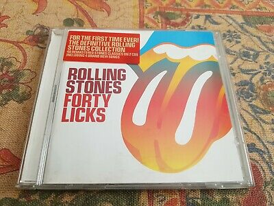 The Rolling Stones - Forty Licks (2002) - CD - Greatest Hits