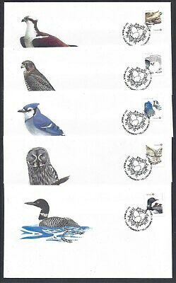 2017 Birds of Canada - 2 Limited and Scarce FDCs with BK stamps