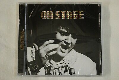 Elvis Presley On Stage Cd New Sealed 1999 Bmg 16 Tracks In The Ghetto Runaway