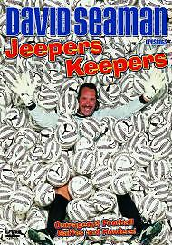 David Seaman: Jeepers Keepers [DVD], Very Good DVD, ,