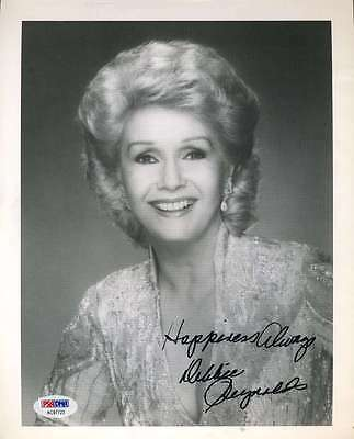 Debbie Reynolds Signed Psa/Dna Certified 8X10 Photo Authenticated Autograph