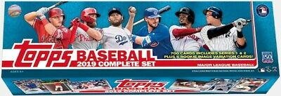 2019 Topps Baseball Complete Factory Set 700 cards Sealed