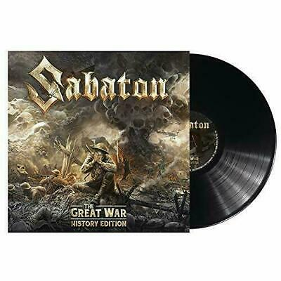 SABATON THE GREAT WAR HISTORY EDITION VINYL LP (Released JULY 19th 2019)
