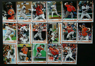 2019 HOUSTON ASTROS 40 Card Lot w/ TOPPS SERIES 2 Team Set 28 CURRENT Players