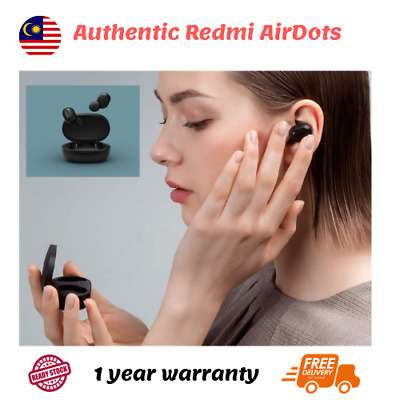 AUTHENTIC Xiaomi Redmi Airdots Wireless TWS Bluetooth 5.0 Earphone with Casing