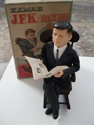 John F. Kennedy Kamar Rocking Chair & JFK Doll