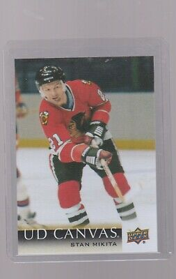 2018-19 Upper Deck  Retired Ud Canvas # C 248  Stan  Mikita