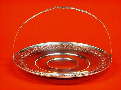 """Sterling silver fruit bowl. measures 9 1/4"""" D x 6 1/4"""" H and weighs 241.8 Grams."""