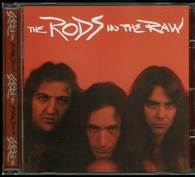 The Rods In The Raw CD new High Vaultage