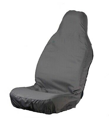 Car Seat Cover Stretch - Front Single - Grey TOWN & COUNTRY 3DSFGRY