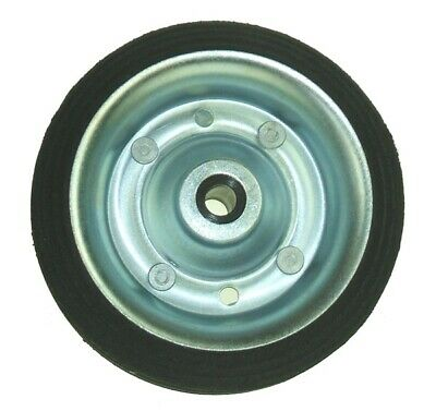 Jockey Wheel Spare Wheel - Solid Tyre - 160mm - For MP433 429A MAYPOLE