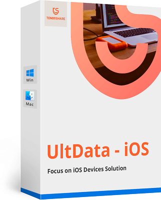 UltData  ( iPhone Data Recovery) for Mac Download Only Item Pre-Activated