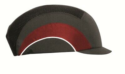 Hardcap A1+ with Micro Peak (3cm) - Grey & Red ABT000-00L-500 JSP
