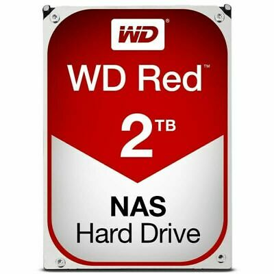 "WD Red 2TB 3.5"" SATA Internal NAS Hard Drive HDD 5400RPM 256MB Western Digital"
